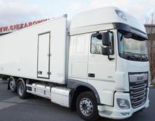 Daf refrigerated truck XF 460 SSC , E6 , 18 EPAL , side door , retarder , 2 beds