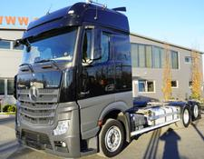 Mercedes-Benz container chassis Actros 2545 , E6 , 6x2 , low deck MEGA , BDF , chassis 7,3m , re