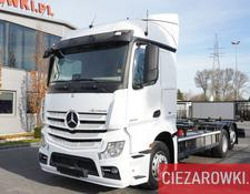 Mercedes-Benz container chassis Actros 2545 , E6 , 6x2 , BDF , chassis 7m , 2 x tanks , retarder