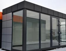 Idex office container, exhibition container