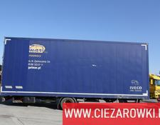 Rohr closed box trailer Acord PC4500 , 8,2m , 20 epal , wabco , double bolt , 1 owner
