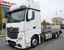 Mercedes-Benz container chassis Actros 2545 , E6 , 6x2 , low deck MEGA , BDF , chassis 7,2m , G