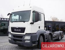 MAN chassis truck TGS 35.400 , 8x2 , PTO , chassis 6,7m , retarder , sleep cab