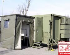 office container ARMPOL / Military container body / UNUSED