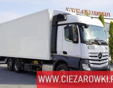 Mercedes-Benz refrigerated truck Actros 2543 , E6 , 6x2 , 18 EPAL , partition wall , StreamSpace