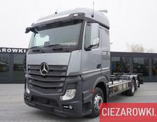 Mercedes-Benz chassis truck Actros 2545 , E6 , 6x2 , BDF , chassis 7m , Giga cab , retarder
