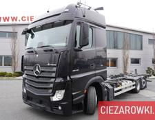 Mercedes-Benz chassis truck Actros 2542 ,E6 , 6x2 , BDF , GIGA cab , chassis 7,6m , retarder