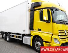 Mercedes-Benz refrigerated truck Actros 2542 , E6 , 6x2 , 21 EPAL , 8,6m long , retarder , Stream